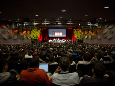Keynote room at Devoxx France